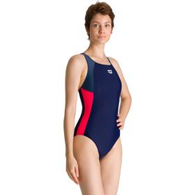 arena Ren Jednoczęściowy strój kąpielowy Kobiety, niebieski